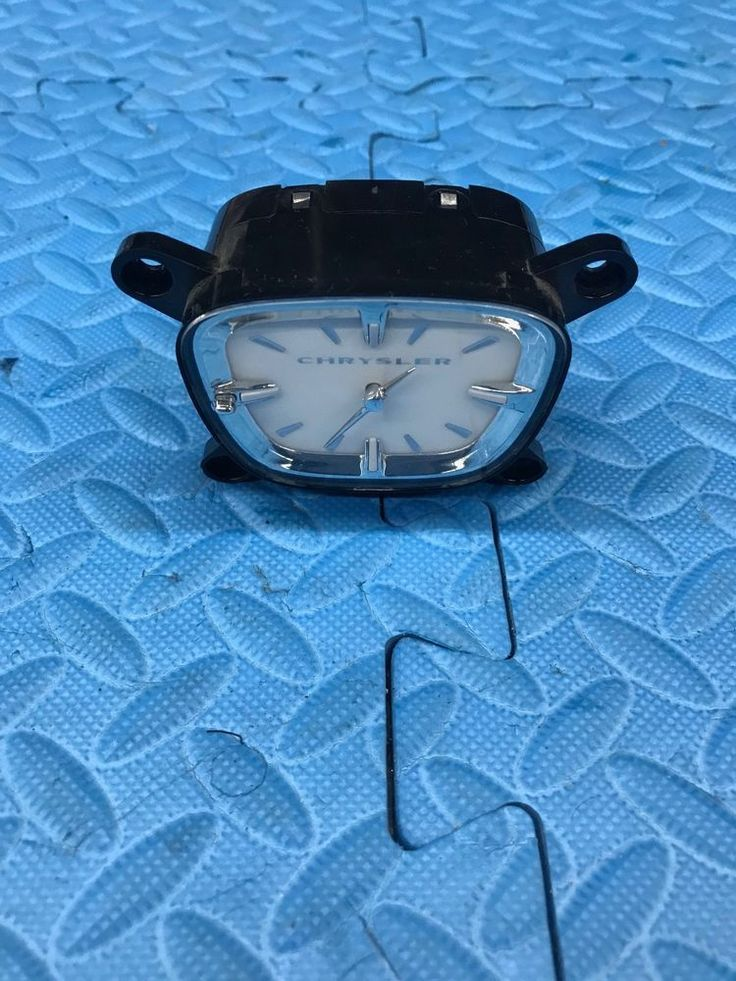 Genuine Mopar Chrysler 300 Part Trim Gauge Analog Clock Assembly 56046491AA #Mopar