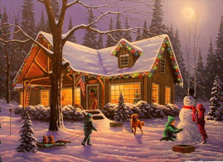 194 besten winterlandschaft bilder auf pinterest. Black Bedroom Furniture Sets. Home Design Ideas