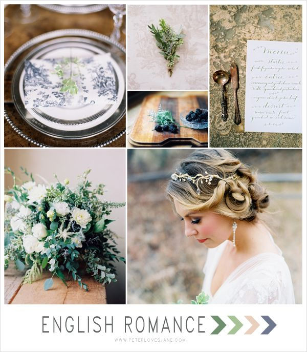love the rustic feel of this - English Romance Inspiration Board