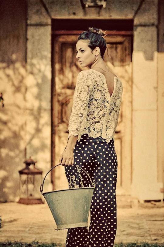 Lace & Polka Dots by Madame Shou Shou
