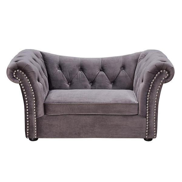 BUY TOV Furniture Modern Dachshund Grey Pet Bed Online - Free Shipping