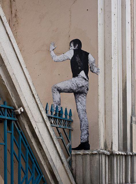 Na Rua, A Arte...Paris / Levalet