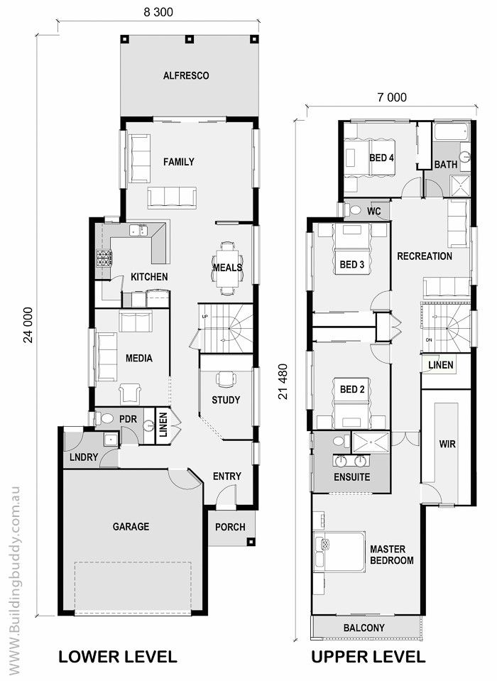 House Plans Home Designs Building Prices Builders Small Lot House Plans Connecting Customers Narrow Lot House Plans Narrow House Plans Narrow Lot House
