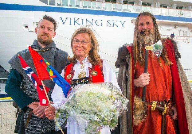 Viking Sky è stata ufficialmente battezzata