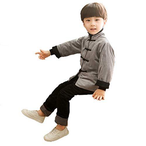 Partiss Kinder Junge wattierte Kleidung Fleece Outwear Ho ...
