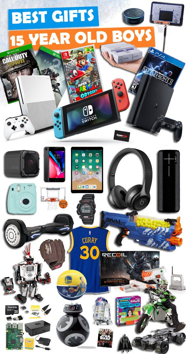 tons of great gifts for 15 year old boys