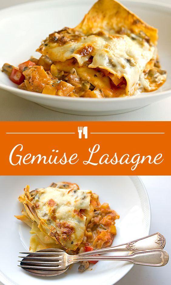 Gemüse-Lasagne   Madame Cuisine Rezept
