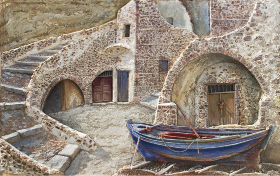 galanopoulos paintings - Google Search