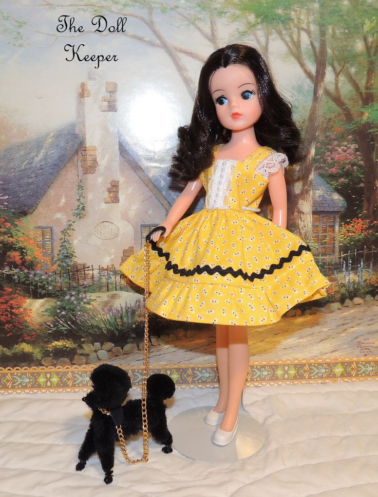 Raven Haired Sindy in Bee Dress