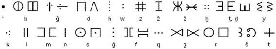 L'écriture tifinagh