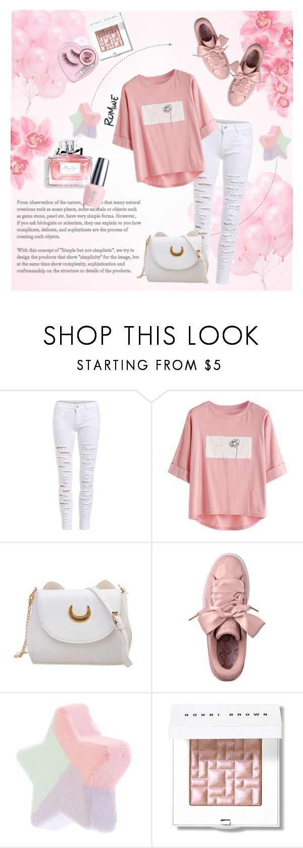 """""""Sweet perfume."""" by zeljkaa ❤ liked on Polyvore featuring Christian Dior, OPI and Bobbi Brown Cosmetics"""