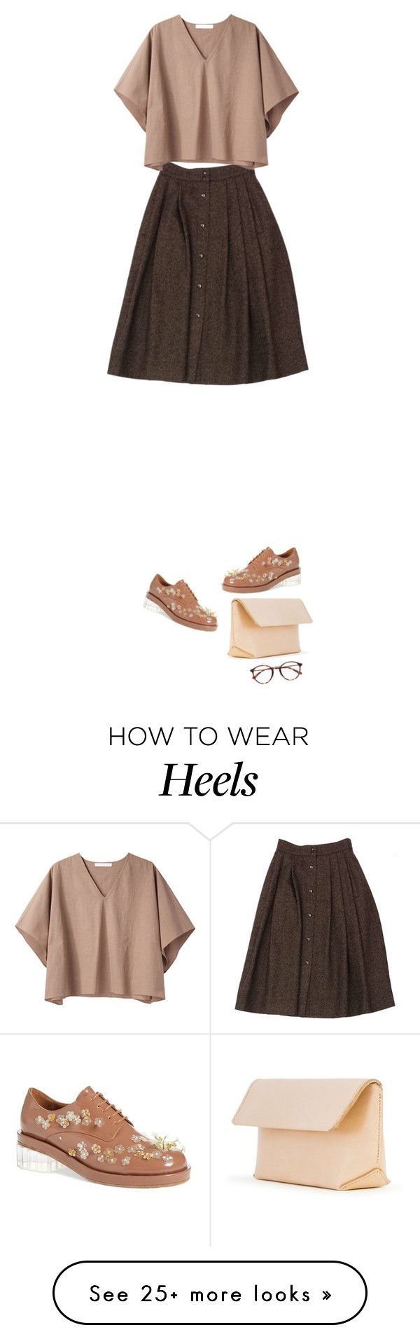 """Just."" by sharplilteeth on Polyvore featuring Guy Laroche, Apiece Apart, Simone Rocha and Iala Díez"