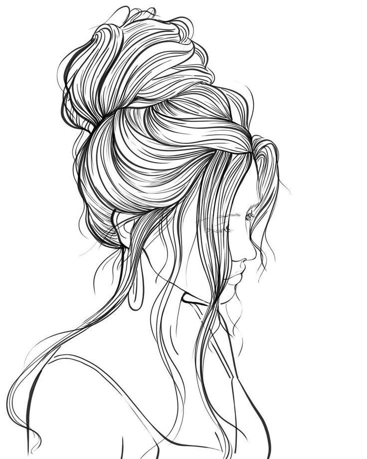 Раскраска волосы длинные википедии есть