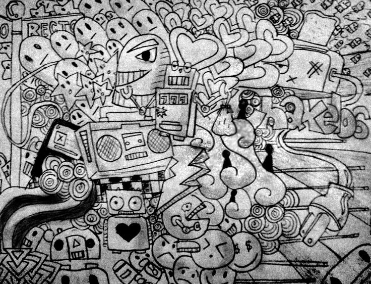 Cool Doodles | Cool Art Doodles | Drawings | Pinterest ...