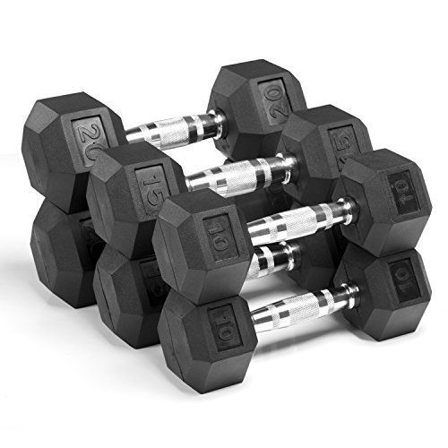 Special Offers - XMark Fitness XM-3301-1020-F Rubber HEX Dumbbells For Sale - In stock & Free Shipping. You can save more money! Check It (January 22 2017 at 06:05PM) >> https://bestellipticalmachinereview.info/xmark-fitness-xm-3301-1020-f-rubber-hex-dumbbells-for-sale/