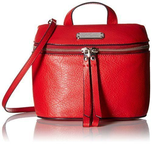 Shoulder Bag for Women On Sale, Red, Leather, 2017, one size Philippe Model