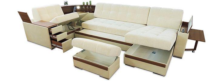 П-образный диван «IQ 121» | «Умные Диваны»