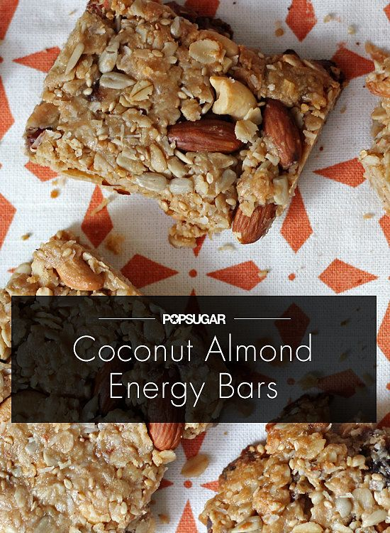 Pre-Workout Perfection: Coconut Almond Energy Bars