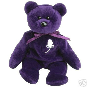 Princess Diana Beanie Baby Bear