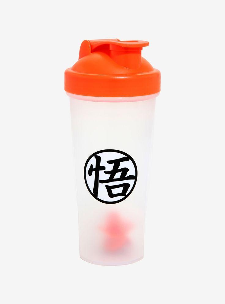 Dragon Ball Z Goku S Symbol Shaker Bottle In 2019