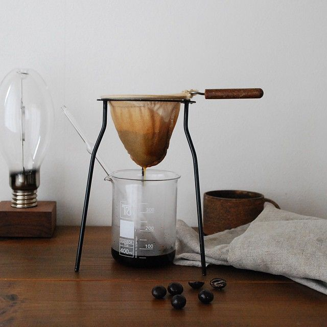 Hario cloth filter coffee