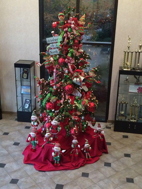 It's beginning to look a lot like Christmas and the elves are hard at work! #burtonandburton #burtonandburtondesigns