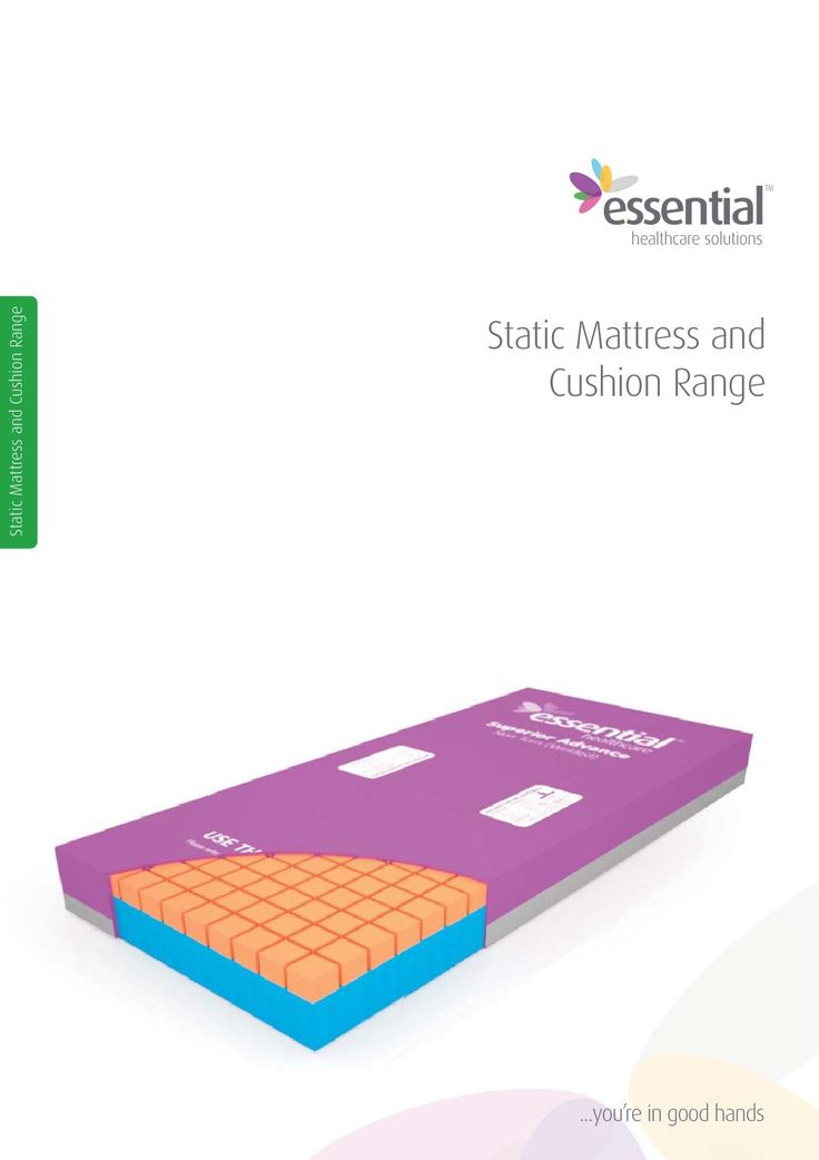 Essential Healthcare - Static Mattress and Cushion Range
