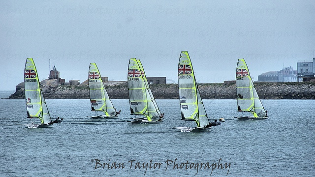 Sailing - Team GB 49ers Week before the olympics 2012 by BrianT2210, via Flickr