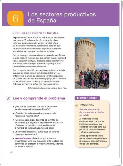 """Unidad 7 de Ciencias Sociales de 5º de Primaria: """"Las actividades económicas"""""""