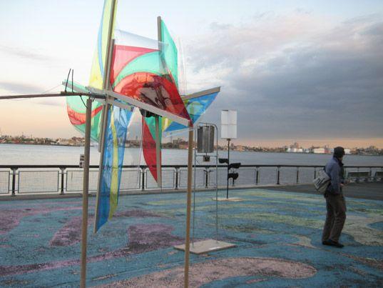 aeolian electric, solar one, wind powered sculptures, wind sculptures, homemade wind sculptures, elliott montgomery, garth zeglin, cade pete...