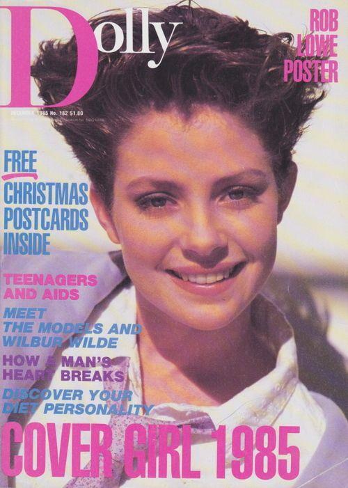 Dolly Magazine (Australia) December 1985 | Sarah Gallagher