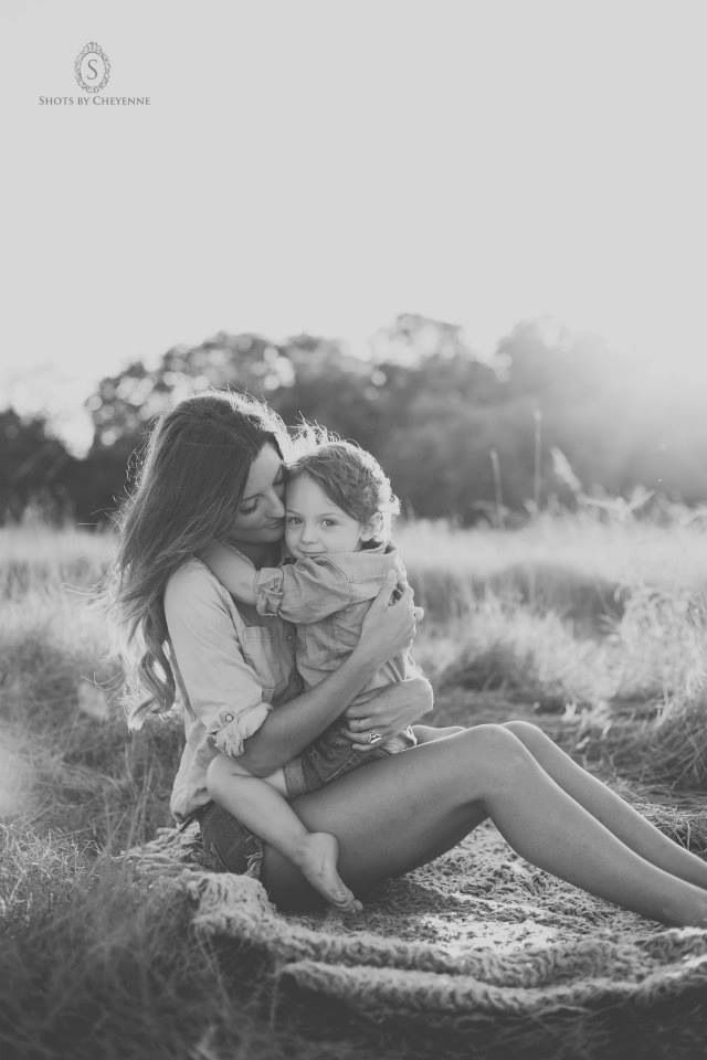 {<3} Family photography mother and son portrait // Taken by Shots by Cheyenne Ward