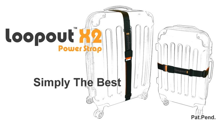 Introducing the superbly deigned luggage strap that efficiently tightens the luggage even after re-packing.