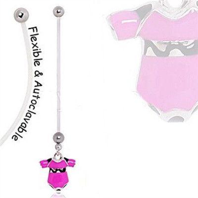 BioFlex Baby Onesie Pregnancy Navel Ring
