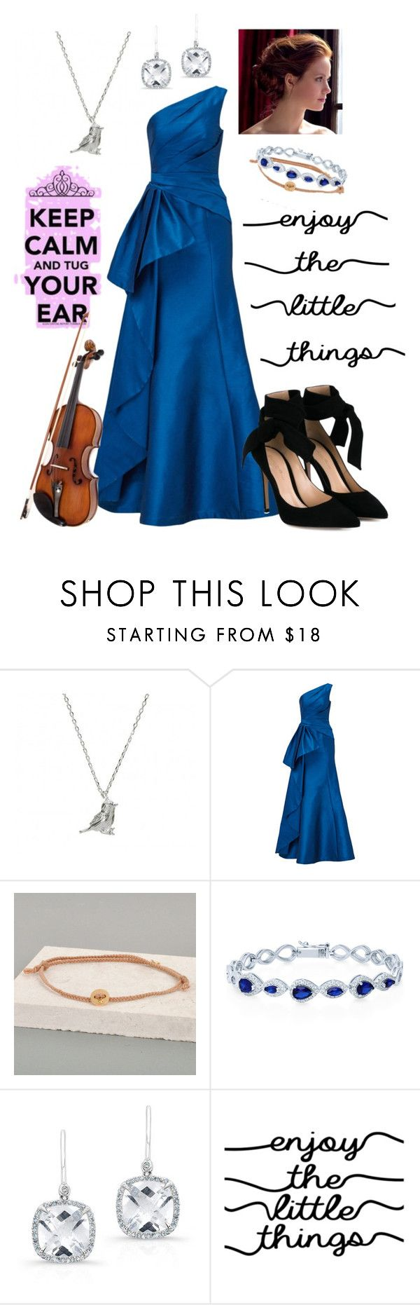 """""""Lady America"""" by tori1121 ❤ liked on Polyvore featuring Estella Bartlett, ML Monique Lhuillier, Hollister Co., Lindsay Pearson, BERRICLE, Anne Sisteron, WALL, Gianvito Rossi, theselection and AmericaSinger"""