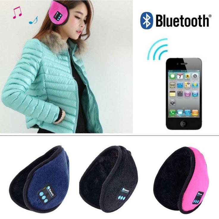 Unisex Wireless Bluetooth Smart Headband Headphone Headset Earphone with Mic