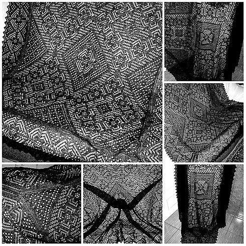 559 best knitted lace shawls images on Pinterest | Lace ...