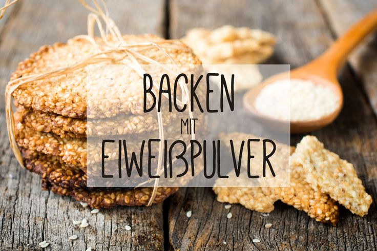 Backen mit Eiweiß- bzw. Proteinpulver ist eine kohlenhydratarme Variante, um leckere Kekse und Kuchen zu machen. Erfahre hier, wie es geht - mit Rezepten.