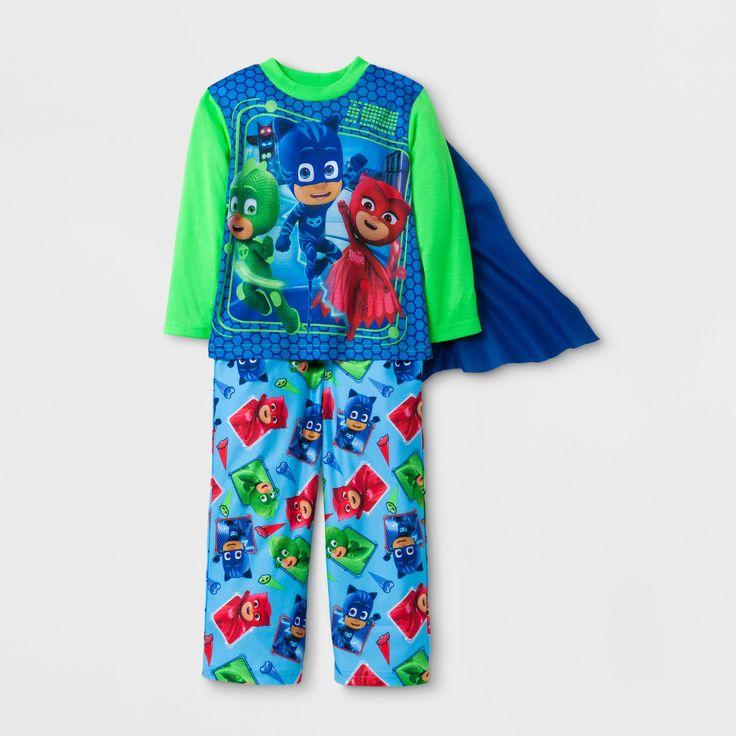 Toddler Boys' PJ Masks Pajama Set - Green 3T