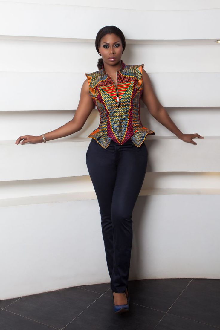 226 Best African Fashion Tops Images On Pinterest African Fashion African Prints And