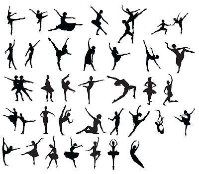 Des ballerines! ~ KLDezign les SVG