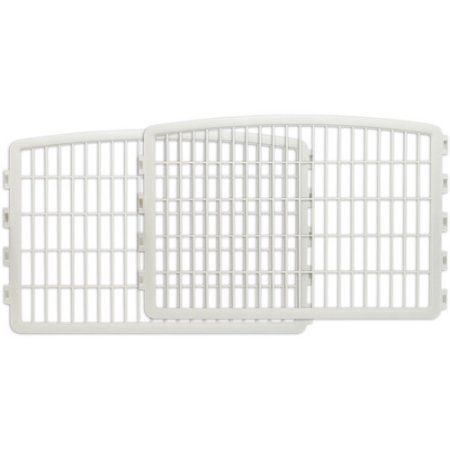 IRIS 2-Panel Add-On Kit for the CI-604 cat Pen in WHITE ( 35.12 x 1.50 x 23.62 Inches ) ** Special cat product just for you. See it now!   Cat Doors, Steps, Nets and Perches