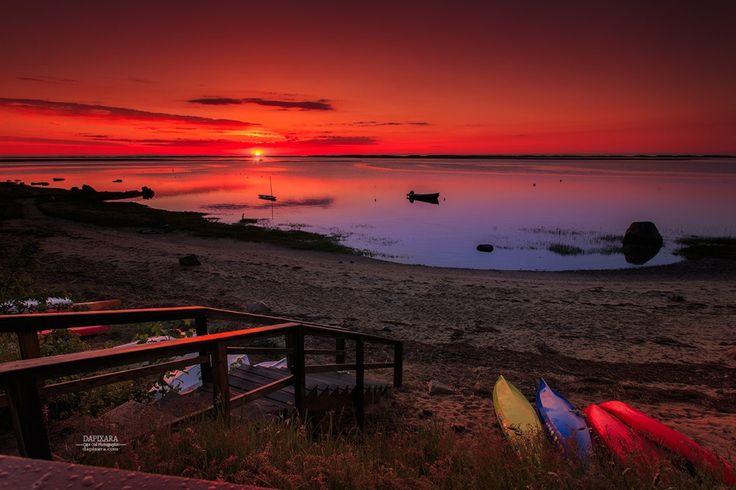 Phenomenal Sunrise Today at Nauset Heights, Orleans, Massachusetts USA. Dapixara photography dapixara.com