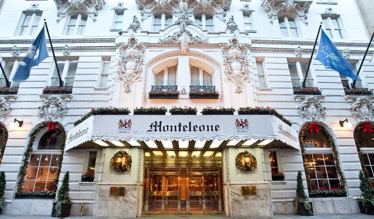 Hotel Monteleone New Orleans Hotel French Quarter - this famous four star luxury hotel is apparently quite famous, it has been on TV dozens of times, some movies were filmed here, many famous author have stayed here and it's haunted! lol