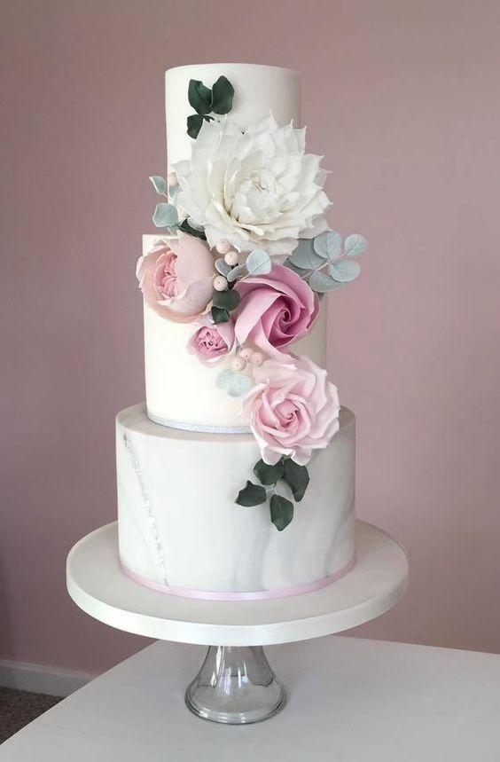 Vorgestellter Kuchen Cotton Crumbs Hochzeitstorte Idee Moderne
