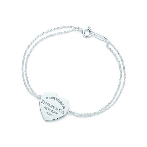 Return to Tiffany® heart tag bracelet in sterling silver, large. 150.00 so worth it!