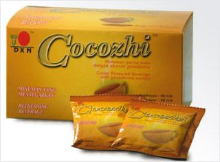 DXN Cocozhi is formulated from the finest cocoa with Ganoderma extract. It is in a ready to drink powdered form, which gives you a chocolate taste. Aside from the fine cocoa aroma, you can also enjoy the benefits of Ganoderma. Just pour the contents in a hot cup of water and stir to enjoy an invigorating drink suitable for the whole family. More informations: http://wellnessdxn.dxnnet.com/products