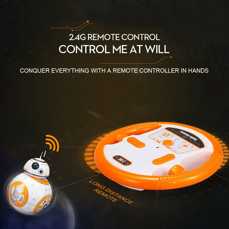 BB-8 2.4GHz RC Robot Ball Remote Control Planet Boy with Sound Sale Online Shopping - Tomtop.com