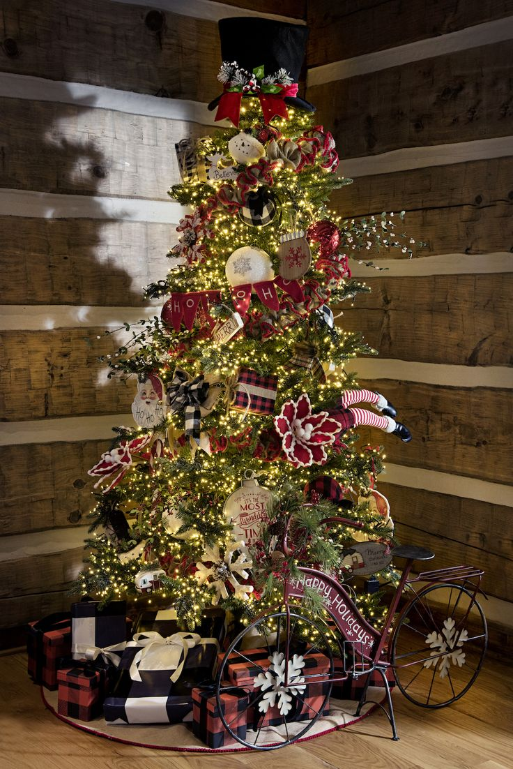 our cedar lane collection combines classic christmas cheer and rustic warmth for the perfect holiday decor - Classic Christmas Trees