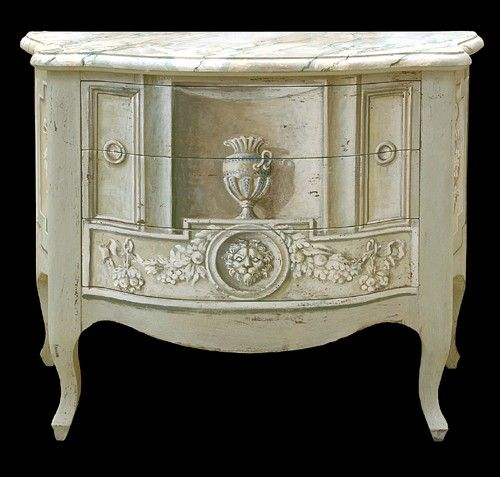Exceptional Though Iu0027m Not A Fan Of Painted Furniture, I Love This Trompe